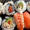Sushi by Les Cunliffe