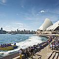 Sydney Harbour In Australia By Day by Jacek Malipan