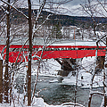Taftsville Covered Bridge by Jeff Folger