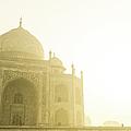 Taj Mahal In The Morning by Brandon Bourdages