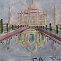 Taj Mahal by Vikram Singh