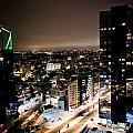 Tallinn At Night by Raimond Klavins