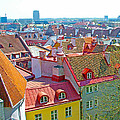 Tallinn From Plaza In Upper Old Town-estonia by Ruth Hager