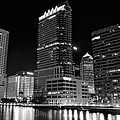 Tampa Black And White  by Frozen in Time Fine Art Photography