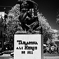 Tarragona Als Herois De 1811 Sculpture On Rambla Nova Avenue In Central Tarragona Catalonia Spain by Joe Fox