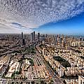 Tel Aviv Skyline by Ron Shoshani