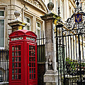 Telephone Box In London by Elena Elisseeva