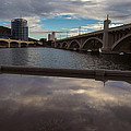 Tempe Lake Reflections by Steve Wile