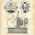 Tesla Electric Circuit Controller Patent 1897 - Vintage by Stephen Younts