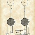 Tesla Electric Transmission Patent 1900 - Vintage by Stephen Younts
