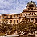 Texas A And M Academic Plaza - College Station Texas by Silvio Ligutti