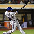 Texas Rangers V Oakland Athletics by Thearon W. Henderson