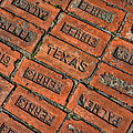 Texas Red Brick  by Jeanne May