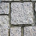 Texture Of Small Stone Structure Road  by IB Photography