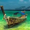 Thai Longboat by Adrian Evans