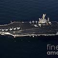 The Aircraft Carrier Uss John C by Stocktrek Images