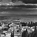 The Alhambra And Albaycin In Granada by Guido Montanes Castillo