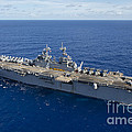 The Amphibious Assault Ship Uss Boxer by Stocktrek Images
