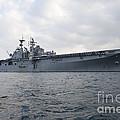The Amphibious Assault Ship Uss by Stocktrek Images