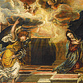 The Annunciation by Mountain Dreams