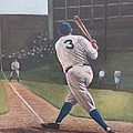The Babe Sends One Out by Mark Haley