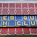 The Camp Nou Stadium In Barcelona by Michal Bednarek