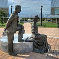 The Catherine And Milton Hershey Statue by Mark Dodd