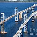 The Chesapeake Bay Bridge by Bill Cobb