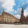 The City Hall Wroclaw Poland by Frank Bach