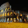 The Colosseum At Night by Jeremy Voisey