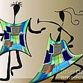 The Dancers by Iris Gelbart