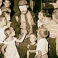 The Famous Clown Emmett Kelly 1956 by Mountain Dreams