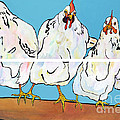 The Four Clucks by Pat Saunders-White