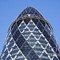 The Gherkin Building In London England by Robert Preston