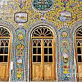 The Golestan Palace In Tehran Iran by Robert Preston