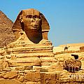 The Great Sphinx Of Giza And Pyramid Of Khafre by Joe  Ng