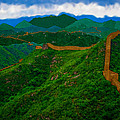 The Great Wall Of China by Bruce Nutting