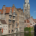 The Historic Center Of Bruges by Jaroslav Frank