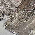 The Hunza River In Pakistan by Robert Preston