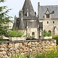The Kitchenbuilding Of Abbey Fontevraud by Christiane Schulze Art And Photography