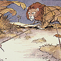 The Lion And The Mouse by Granger
