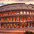 The Majestic Coliseum - Rome - Italy by Luciano Mortula