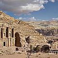 The Monastery El Deir Or Al Deir by Juergen Ritterbach