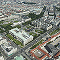 The Museums Area And Hofburg Palace by Xavier Durán