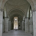 The Nave - Cloister Fontevraud by Christiane Schulze Art And Photography