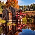 The Old Grist Mill by Michael Blanchette