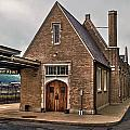 The Ole Train Station At West Point by Jerry Gammon