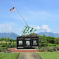 The Pacific War Memorial On Marine by Stocktrek Images
