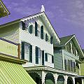 The Painted Ladies Of Cape May by Allen Beatty