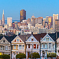 The Painted Ladies Of San Francisco by Luciano Mortula